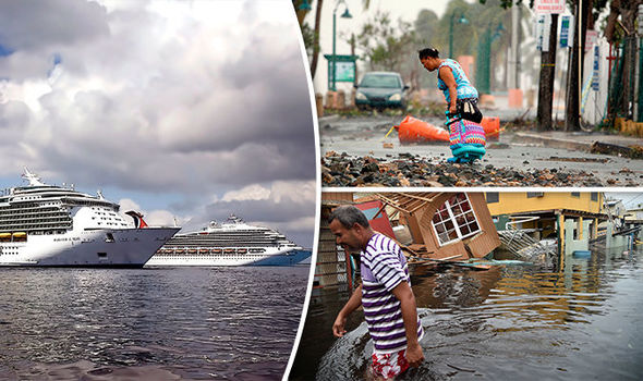 Royal Caribbean CANCELS cruise trip and instead uses ship to help Puerto Rico crisis