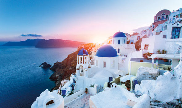 Blue skies, white houses and stunning beaches: Discover Santorini
