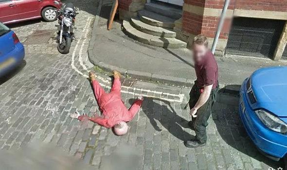 Google Maps Edinburgh murder