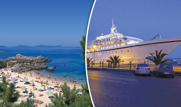 Travel the Mediterranean with this friendly and luxurious cruise ship