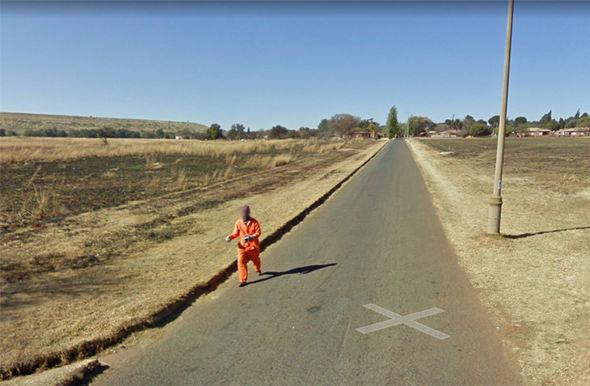 Google Maps escaped convict