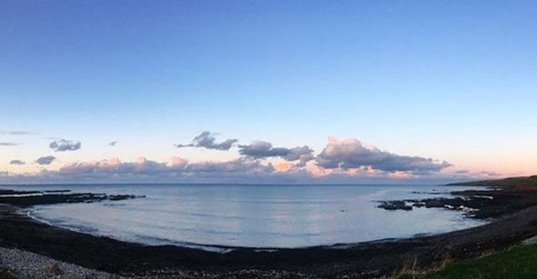 Aberdeen coast