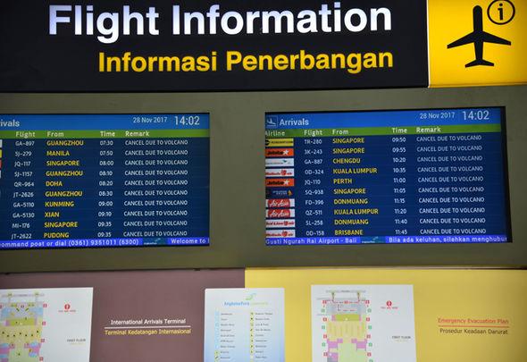 bali volcano travel update latest airasia jetstar virgin
