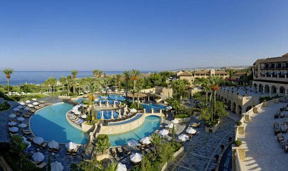 The Elysium hotel, Paphos