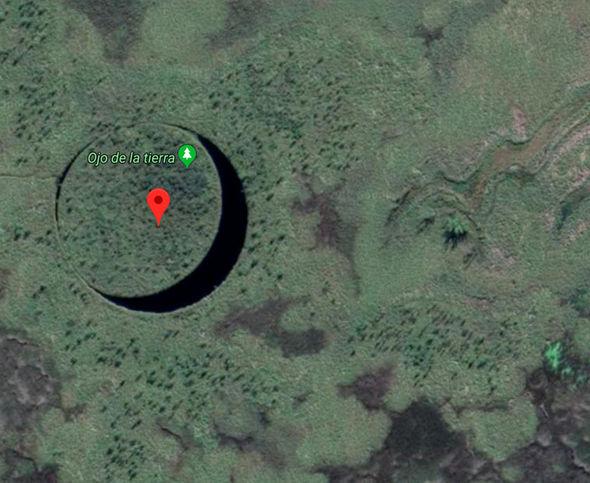 Google Maps El Ojo de la tierra