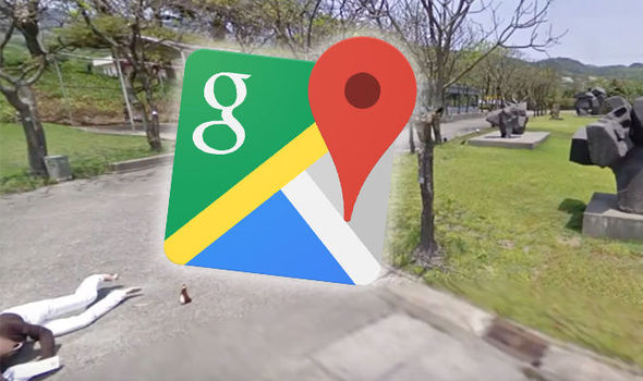 Google Maps street view accident