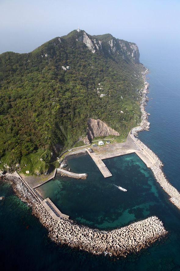 Okinoshima island Japan