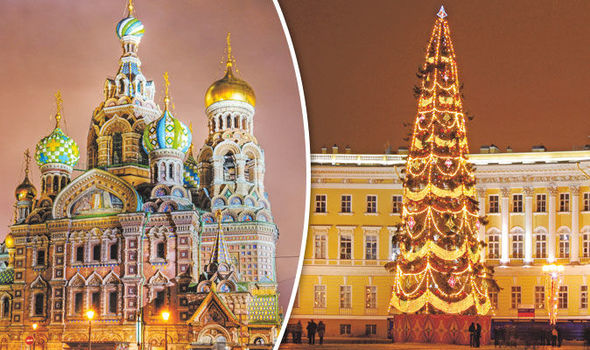 St Petersburg: Discover the festive fun in Russia's fairytale city