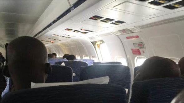 The Dana Air statement blamed a passenger