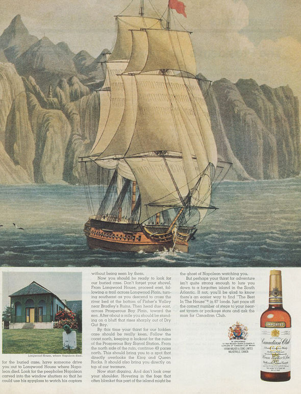 canadian club whisky treasure hunt loch ness