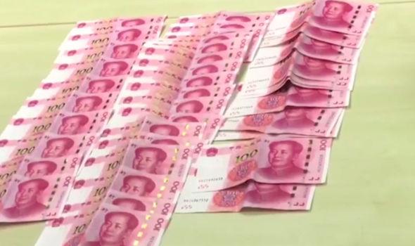 Bangkok security stolen money