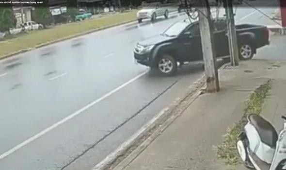 Car spinning