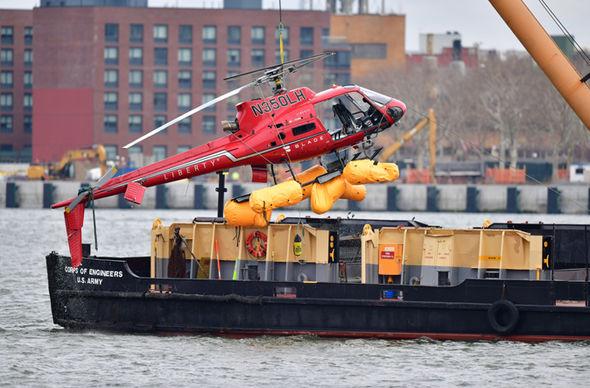 Helicopter crash travel advice