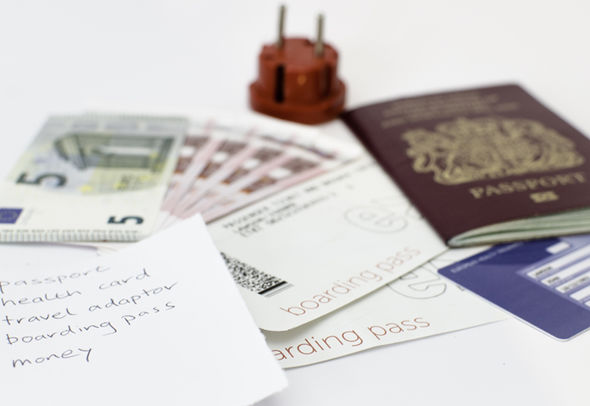 Passport renewal application