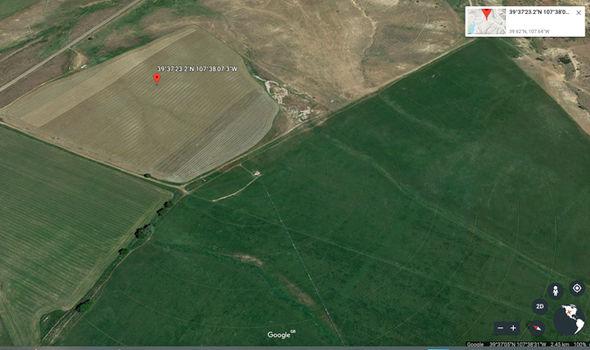 Google Earth: Crop circles