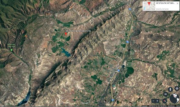 Google Earth: Colorado