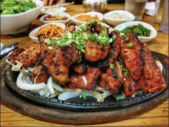 Ham Ji Park restaurant