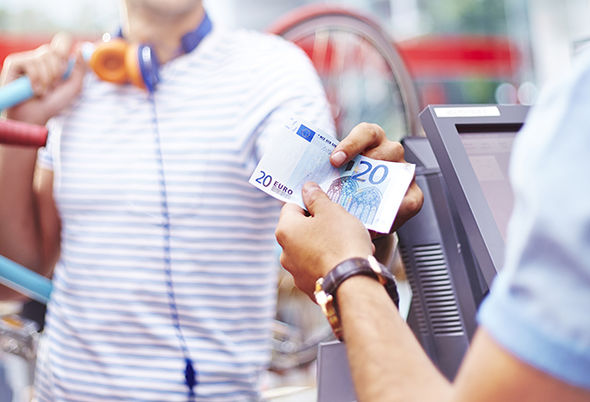 Exchange rate pound euro