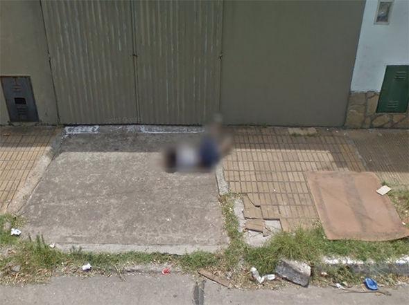 Google Maps Street View embarrassing fall