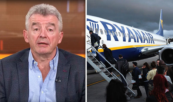 Ryanair Michael O'Leary flight prices airfares oil