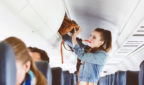 cabin bag policy hand luggage plane crash info emergency evacuation plane