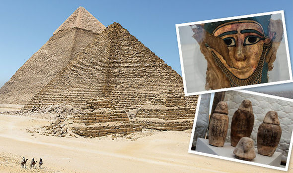 New discovery in the Great Pyramid of Giza reveals ancient burial site 2500 years old
