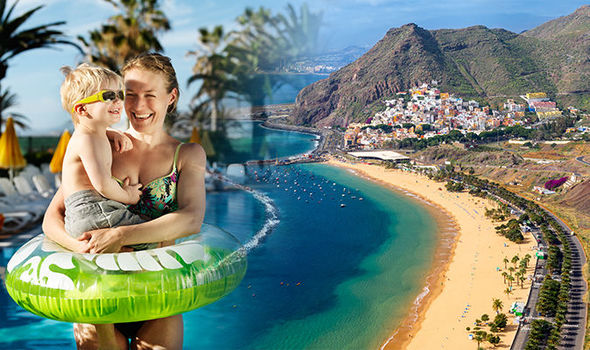 Tenerife voted favourite beach holiday